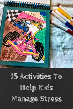 15 Stress-busting Activities To Help Kids | Self-care for kids | Stress busters
