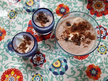 Homemade Double Chocolate Chip Frappuccino