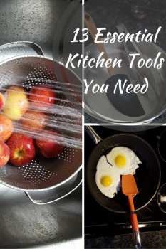 13 Essential Kitchen Tools Every Home Cook Needs| Multipurpose Kitchen Utensils | MapleandMarigold.com