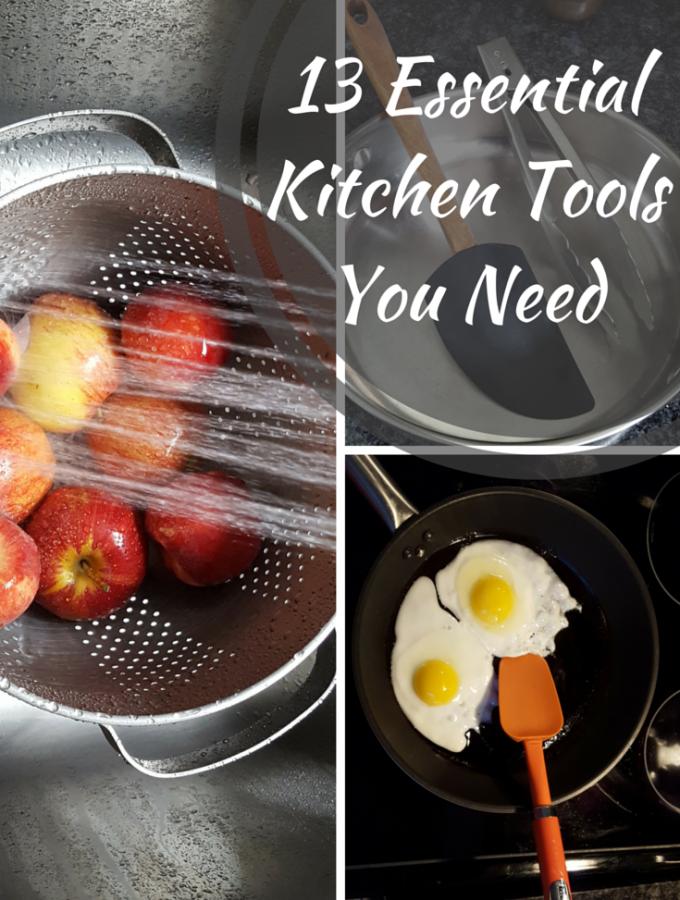 13 Essential Kitchen Tools Every Home Cook Needs| Multipurpose Kitchen Utensils | MapleandMarigold.com