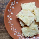 Easy Indian Dessert – Ricotta Burfi {Ricotta Almond Fudge}