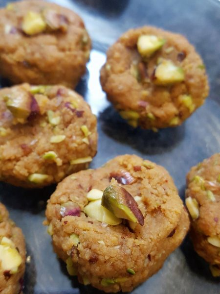 Quick and easy Indian Sweet | Rustic Peda made with Ricotta and roasted Pistachios | Indian Dessert | Festive Sweets and Snacks | Diwali Food | Indian Food | Maple and Marigold