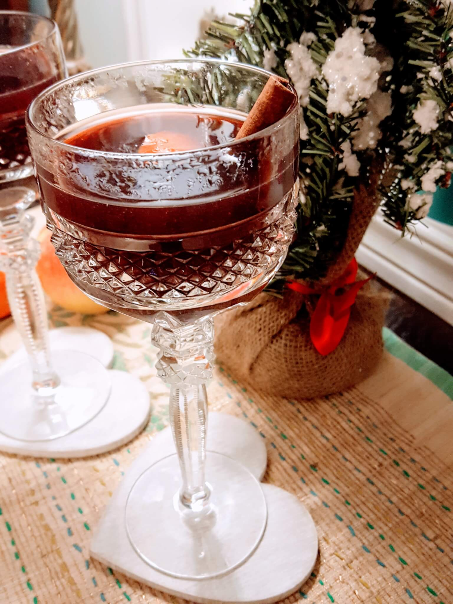 Christmas in Toronto   Easiest Ever Mulled Wine Recipe   Maple and Marigold