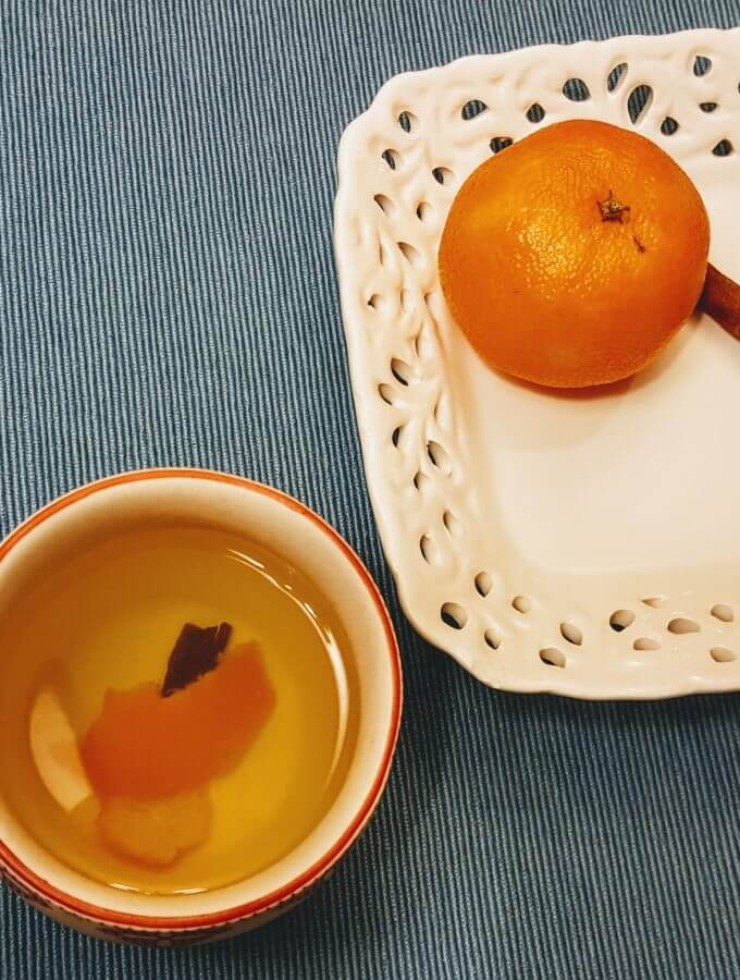 Phlegm -busting Orange Peel Tea Recipe   Natural Remedies   Healthy Living   Cold and flu remedies