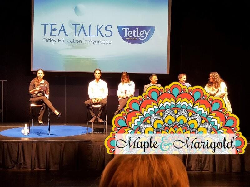 Finding balance | New ear Resolutions | Tetley giveaway | Tetley Canada Ayurveda tea | Sponsored | Maple and Marigold