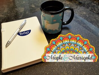Finding balance | New ear Resolutions | Tetley giveaway | Tetley Canada Ayurveda tea | Sponsored | Maple and Marigold