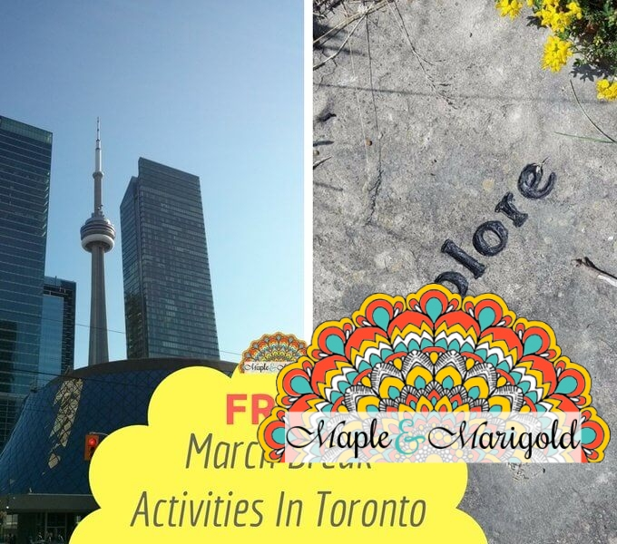 Family-friendly and fun winter things to do in Toronto | March Break Activities in Toronto | Things to do with kids in Toronto | Maple and Marigold