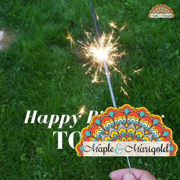 Maple and Marigold turns one | Happy Blogiversary