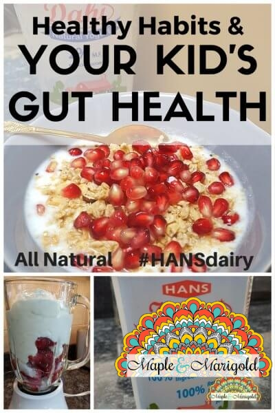 Gut health for kids | Healthy habits for kids | #HansDairy | Sponsored | Maple and Marigold