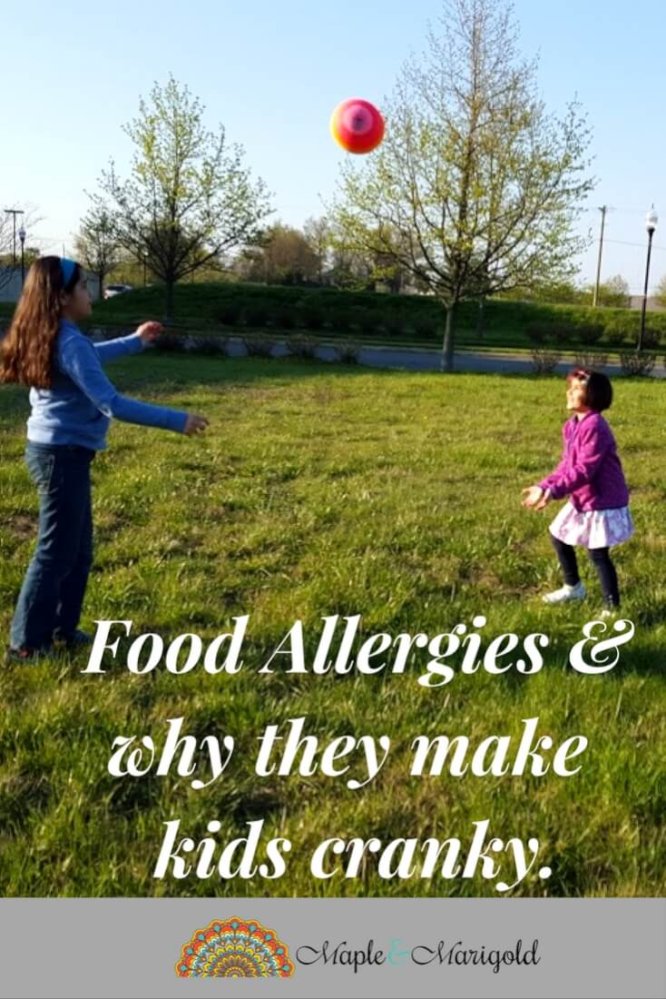 Food Allergies and Kids: Why your child may be cranky| Itchy Skin Treatment for Kids | Kids with Food Allergies| Maple and Marigold