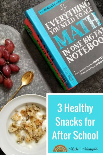 3 Wholesome After school snacks | Fall in Toronto | Healthy and Easy with dairy | MapleandMarigoldcom