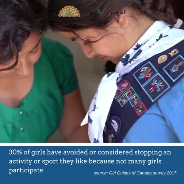 Erasing the conflict; Girl Guides of Canada survey | Maple and Marigold