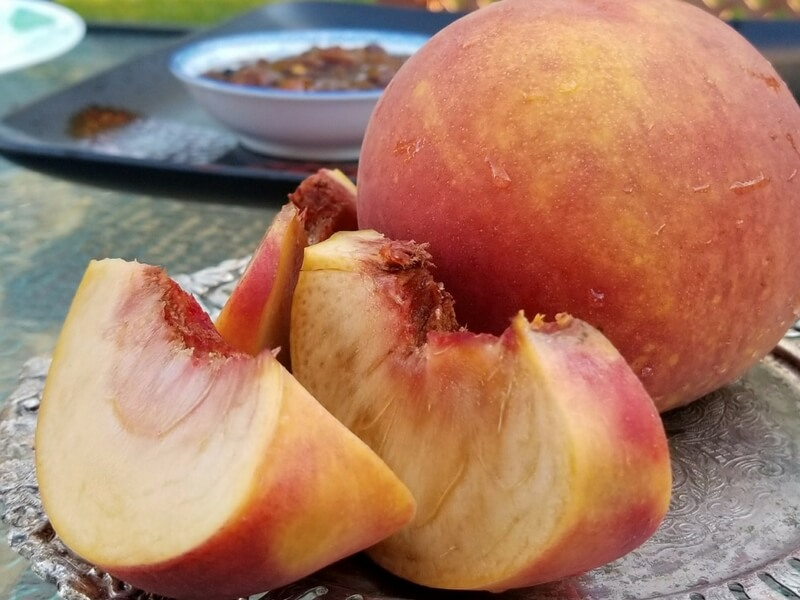 Peach Chutney recipe | Summer fruits | Delicious condiments | Maple and Marigold.com