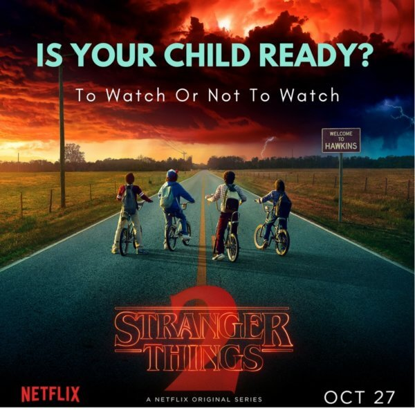 Is Stranger Things Scary | To watch or not to watch | Netflix Special | Sponsored | Maple and Marigold