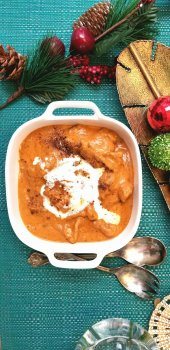 Celebrating New Traditions Around The Table {Turkey Makhani Recipe}