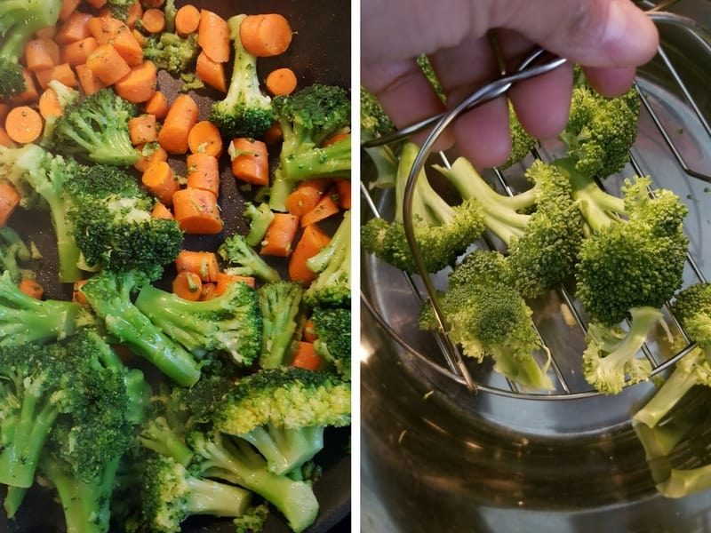 Broccoli Instant Pot Meal Prep | Maple and Marigold