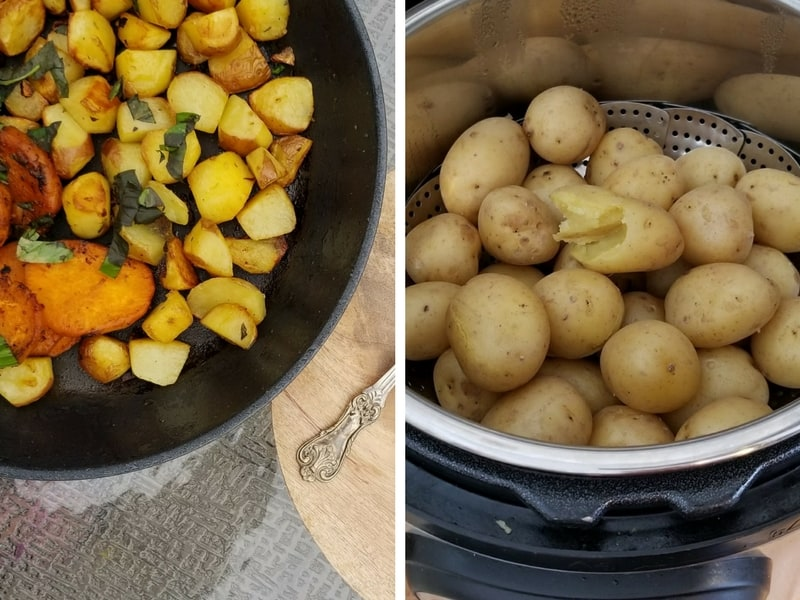 Cooking Potatoes in an Instant Pot | Maple and Marigold
