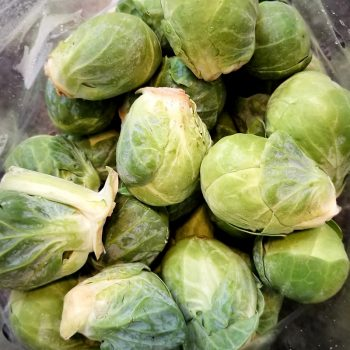 Healthiest (and most delicious) way to cook brussels sprouts | Eat your vegetables | Half your plate | Maple and Marigold