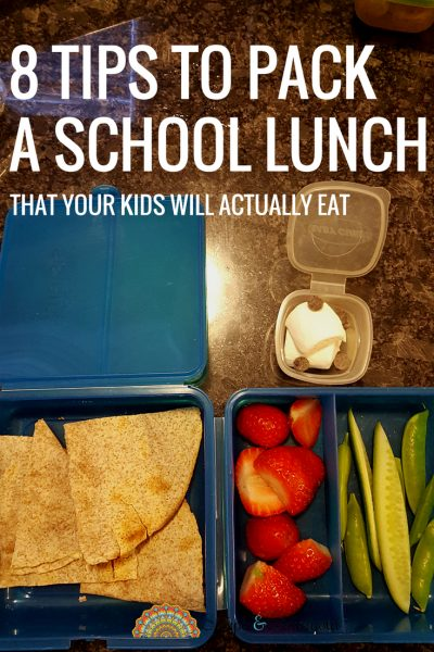 7 Tips to Packing A School Lunch That Your Kids Will Eat | Back to School | Maple and Marigold