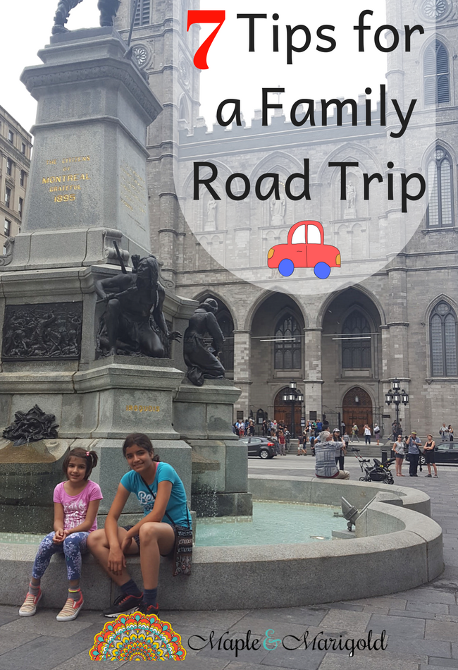 7 Tips for a Successful Family Road Trip | Travel with Kids | Summer Travel | Canada | Maple and Marigold