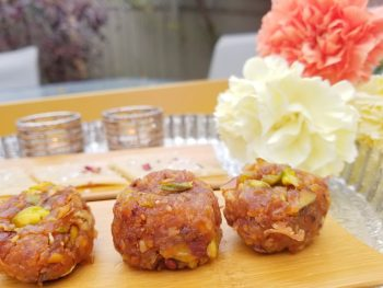Apple Peda | Indian Sweet with a Canadian twist