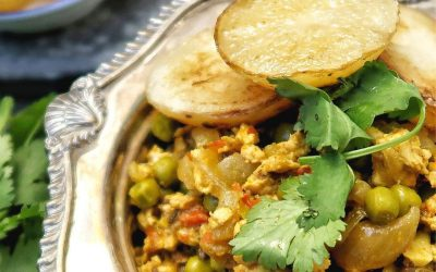 Turkey Keema Matar Curry – Traditions Old and New