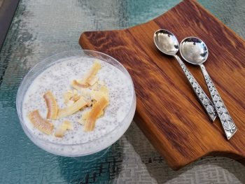 Chia Seed Pudding: Not just for cool people