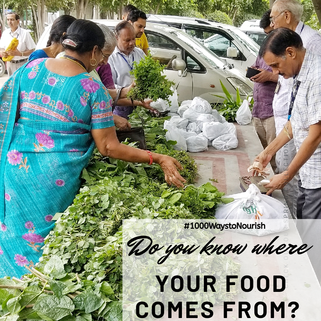 #1 of #1000WaystoNourish: Ask your Grocer this
