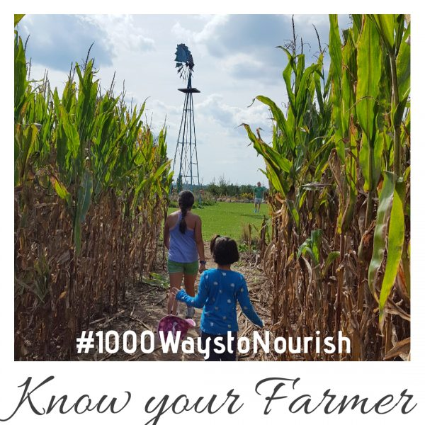 #2 of #1000WaystoNourish | KNow your farmer | Support your farmer