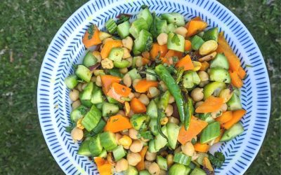 Cucumber Curry Salad: summer on a plate