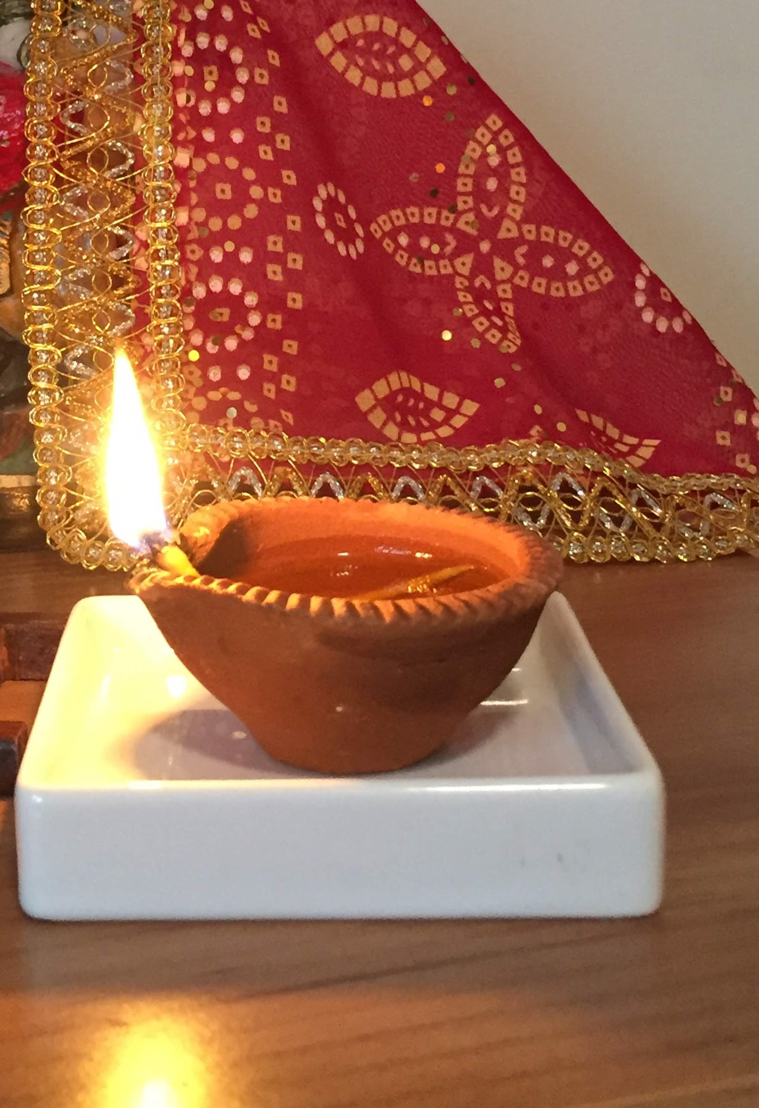 Maple & Marigold | Diyas made of clay | Celebrating Diwali at home