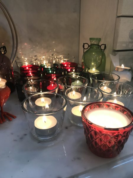 Celebrating Diwali with Ikea tealights
