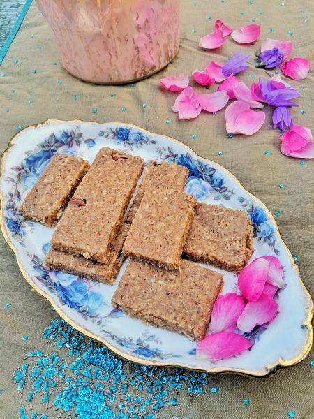 Easy Diwali Sweet   Coconut Pecan Burfi   Maple and Marigold.com