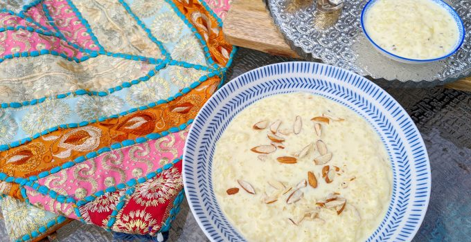 Kheer – Indian Rice Pudding recipe