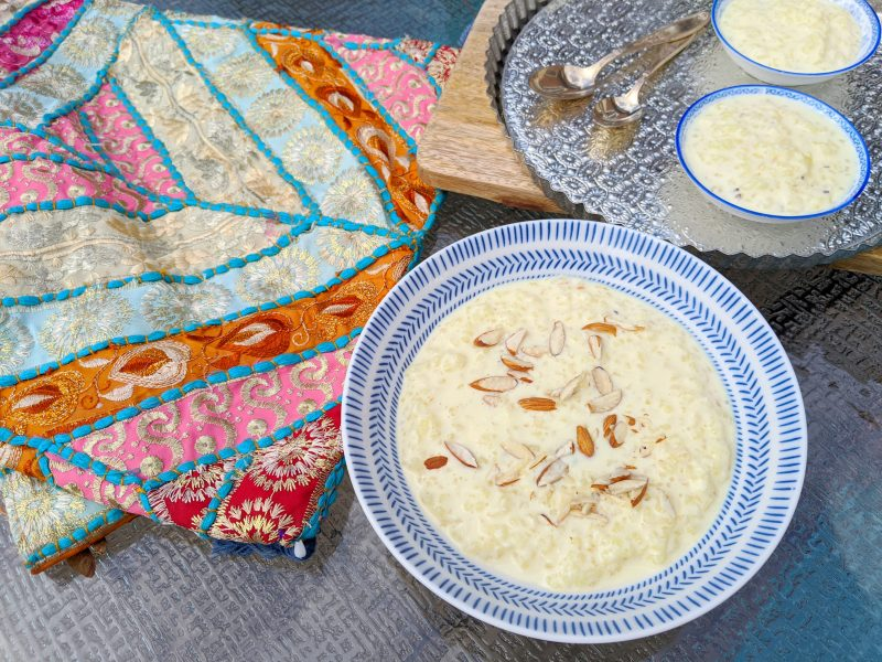 Kheer - decadent, mellow rice pudding