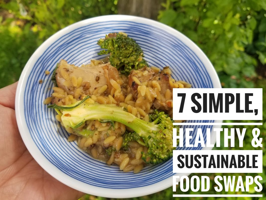 Eat This, Not That: 7 simple, sustainable food swaps | Healthy, Delicious and Sustainable |