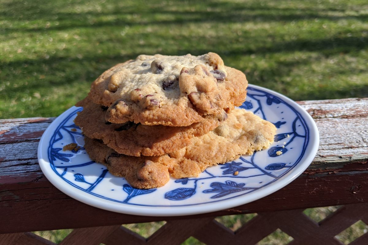 Easy Chocolate Chip Cookies with Pecans