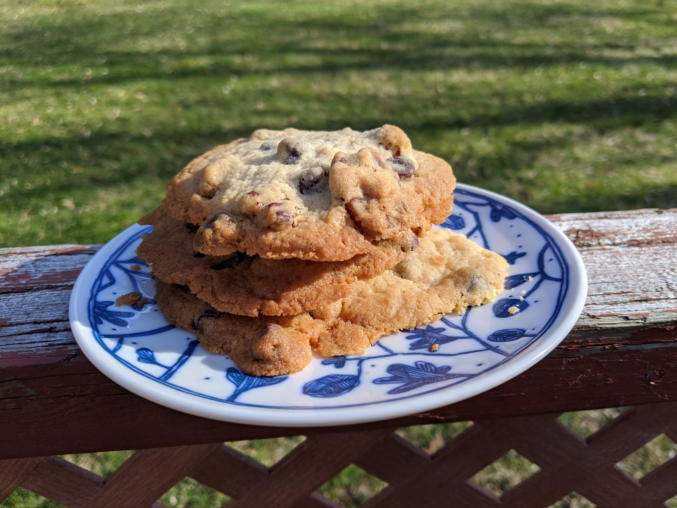 Pecan Chocolate Chip Cookies | Baking with few ingredients | Pantry Staple cooking