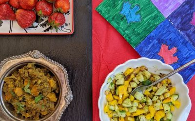 Contemporary Canadian Food {with an Indian Flair}