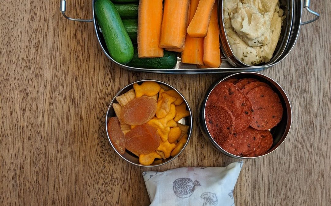 Sustainable and EASY Tips to Pack A School Lunch