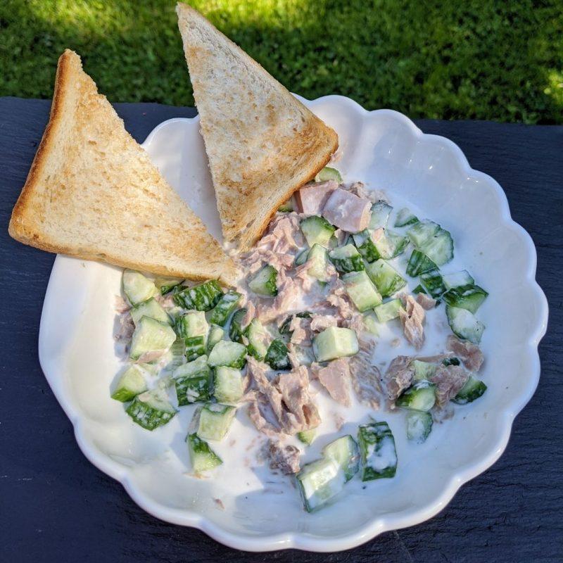 Simple Tuna Salad Recipe | Maple and Marigold
