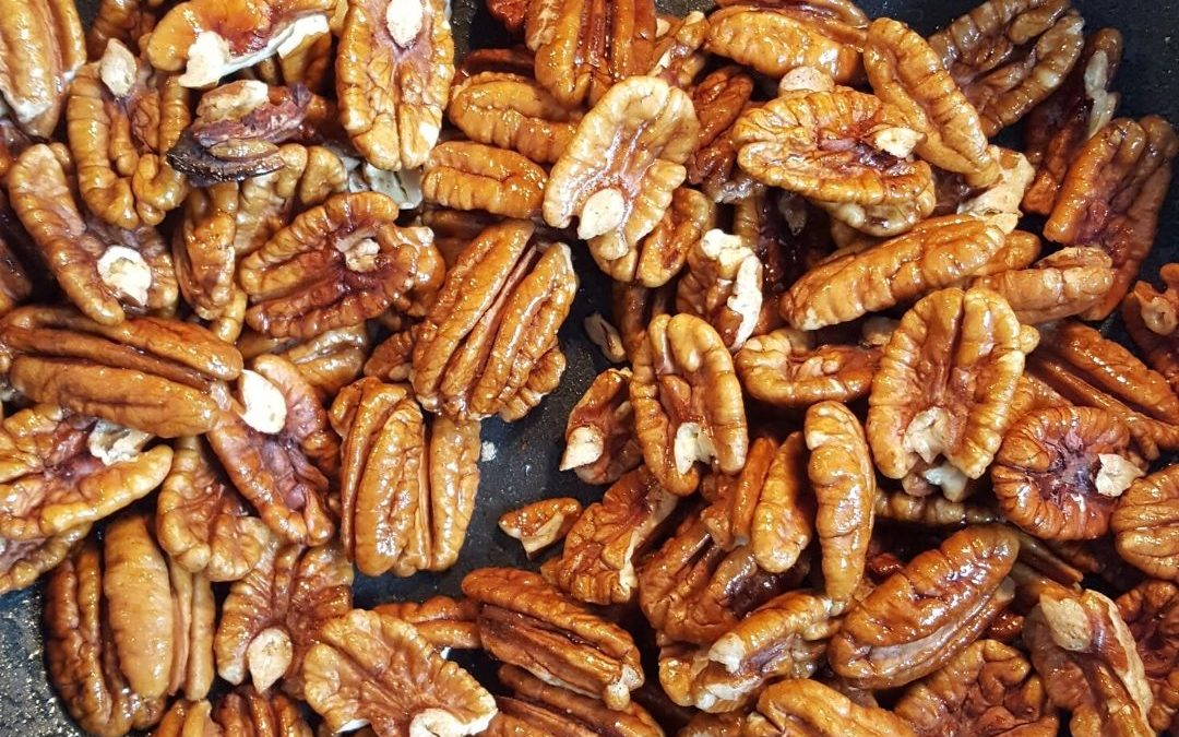 Quick and Lovely Candied Pecans