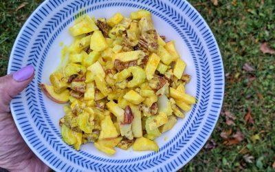 Meal Prep Ideas + Golden Turkey Salad