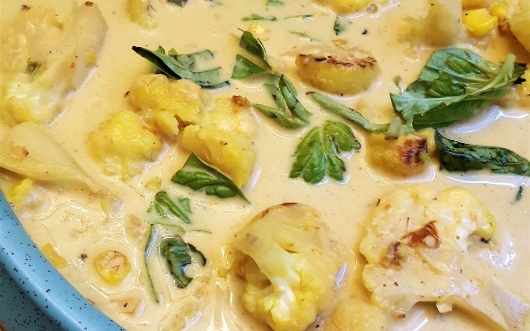 Flavourful and Easy Coconut Curry