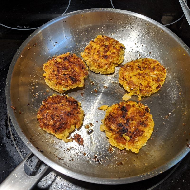 Golden Salmon Patties With Oats | Easy Weeknight Dinner | Pantry Staple Cooking