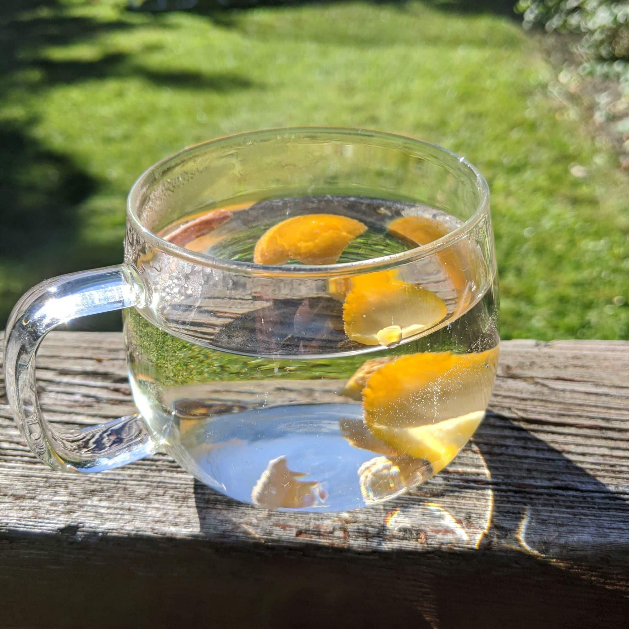 Best Tea for a Cold - Orange Peel Tea