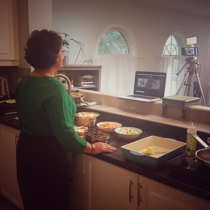Sunday Cooking Club - Behind The Scenes | MapleandMarigold.com